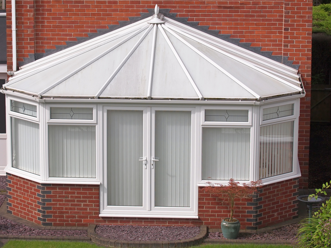 UPVC conservatory roof cleaning
